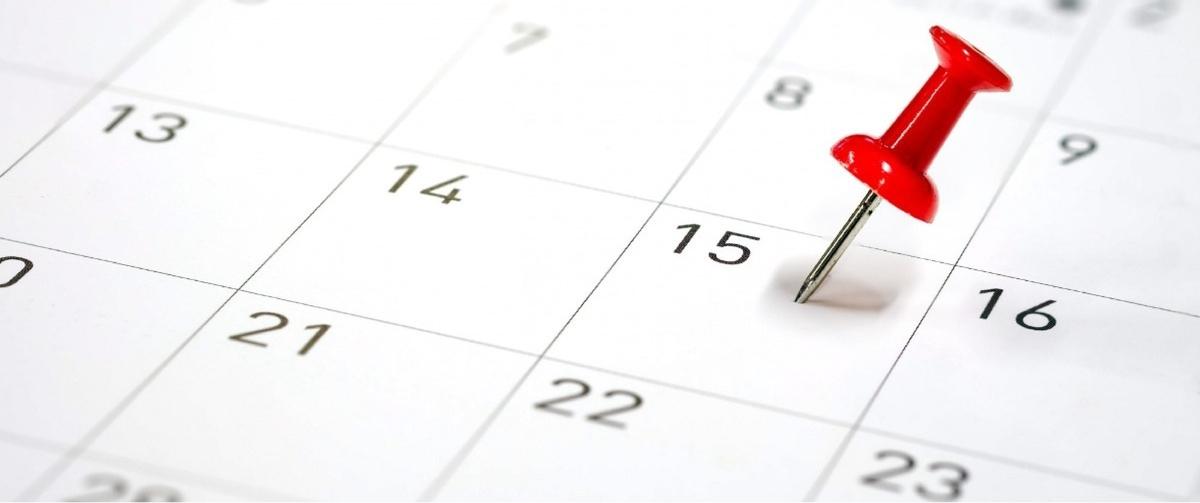 calendar schedule furnace maintenance