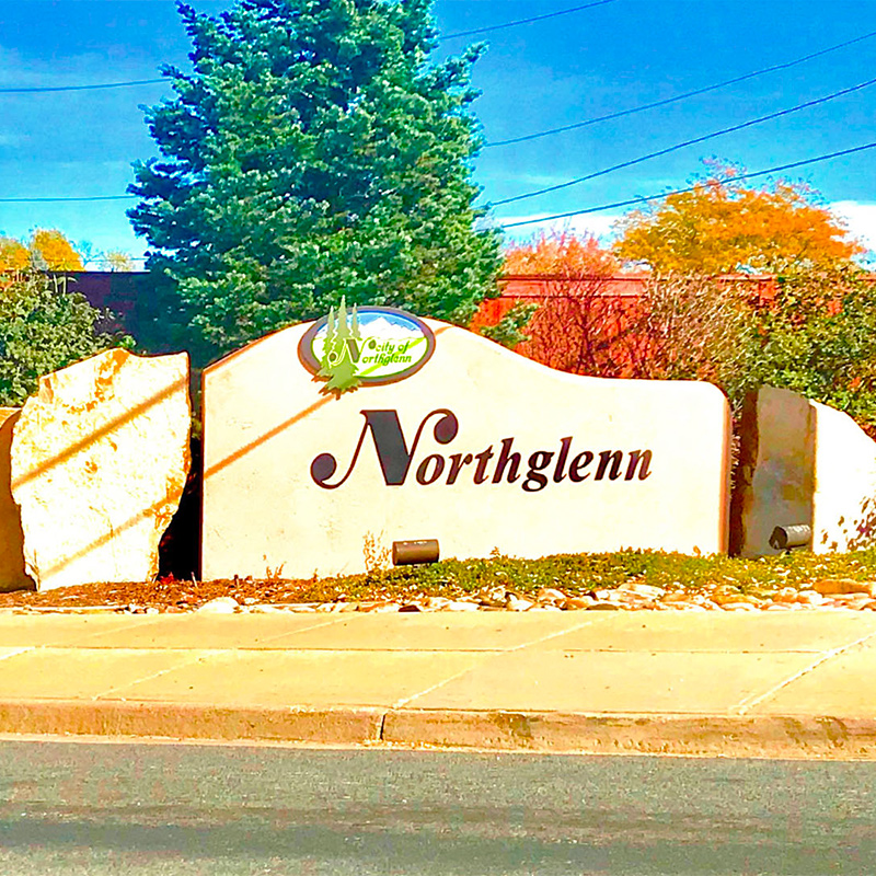 Welcome to Northglenn, CO Sign