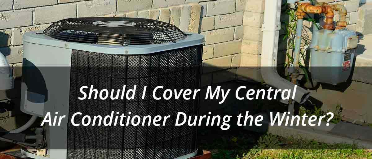 should I cover my ac unit during the winter