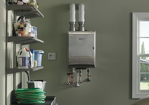 Tankless Water Heaters Reduce Utility Costs